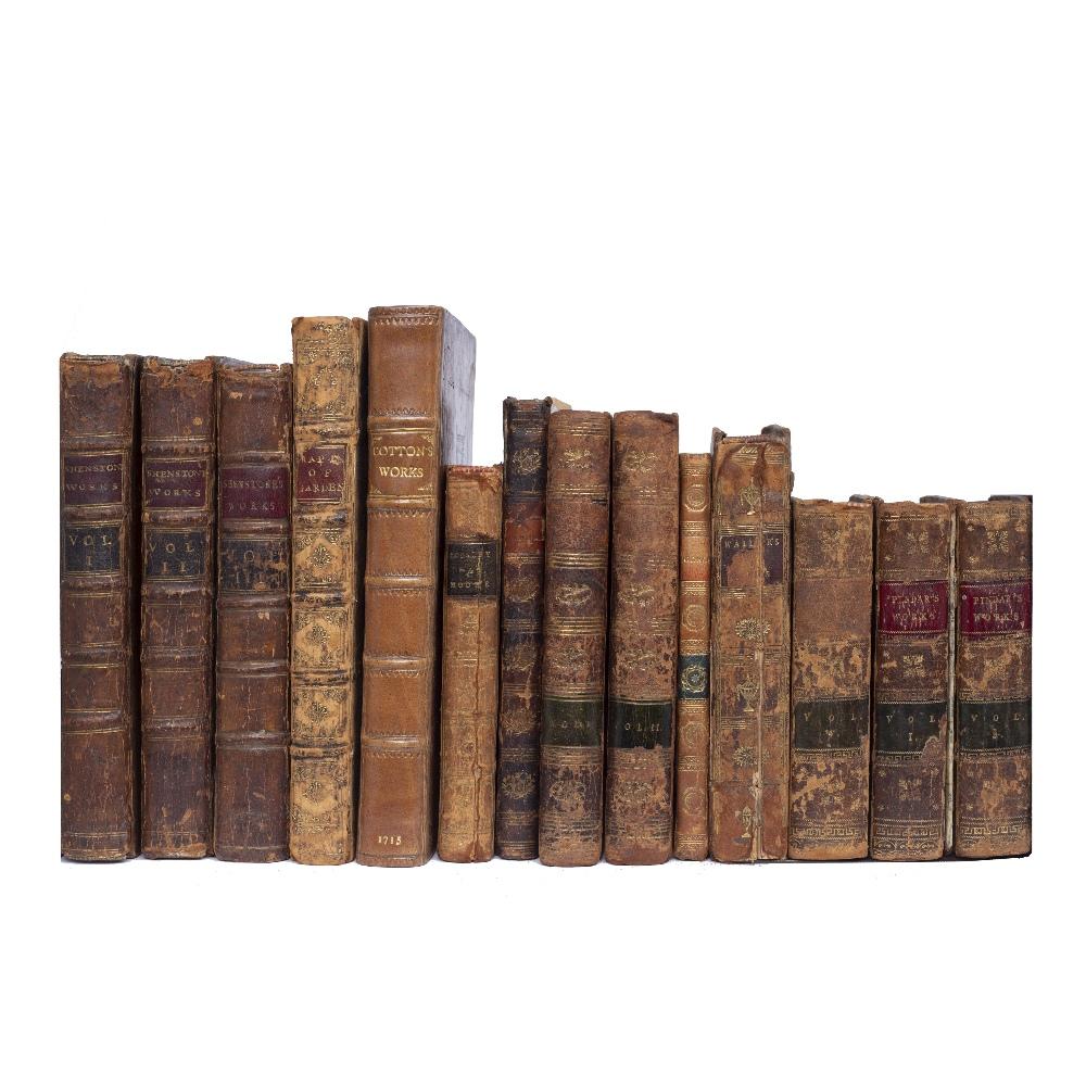 SHENSTONE, William (1714-1763), Poet and Gardener 'The Works in Verse and Prose'. 2nd Ed. Dodsley,