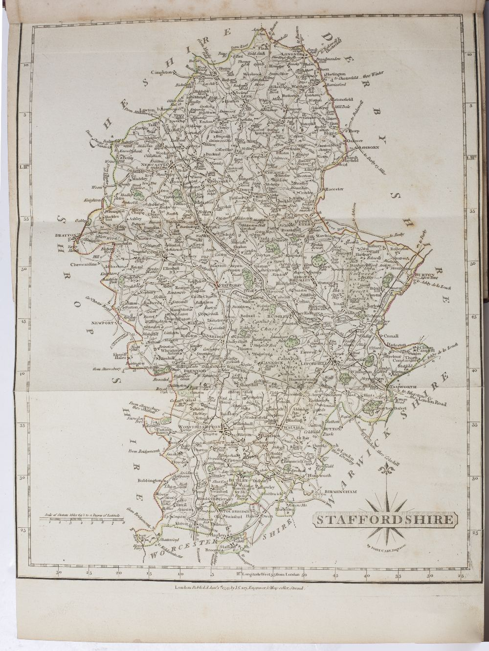 NIGHTINGALE, The Rev. J. A Topographical and Historical Description of Staffordshire. Sherwood, - Image 3 of 3