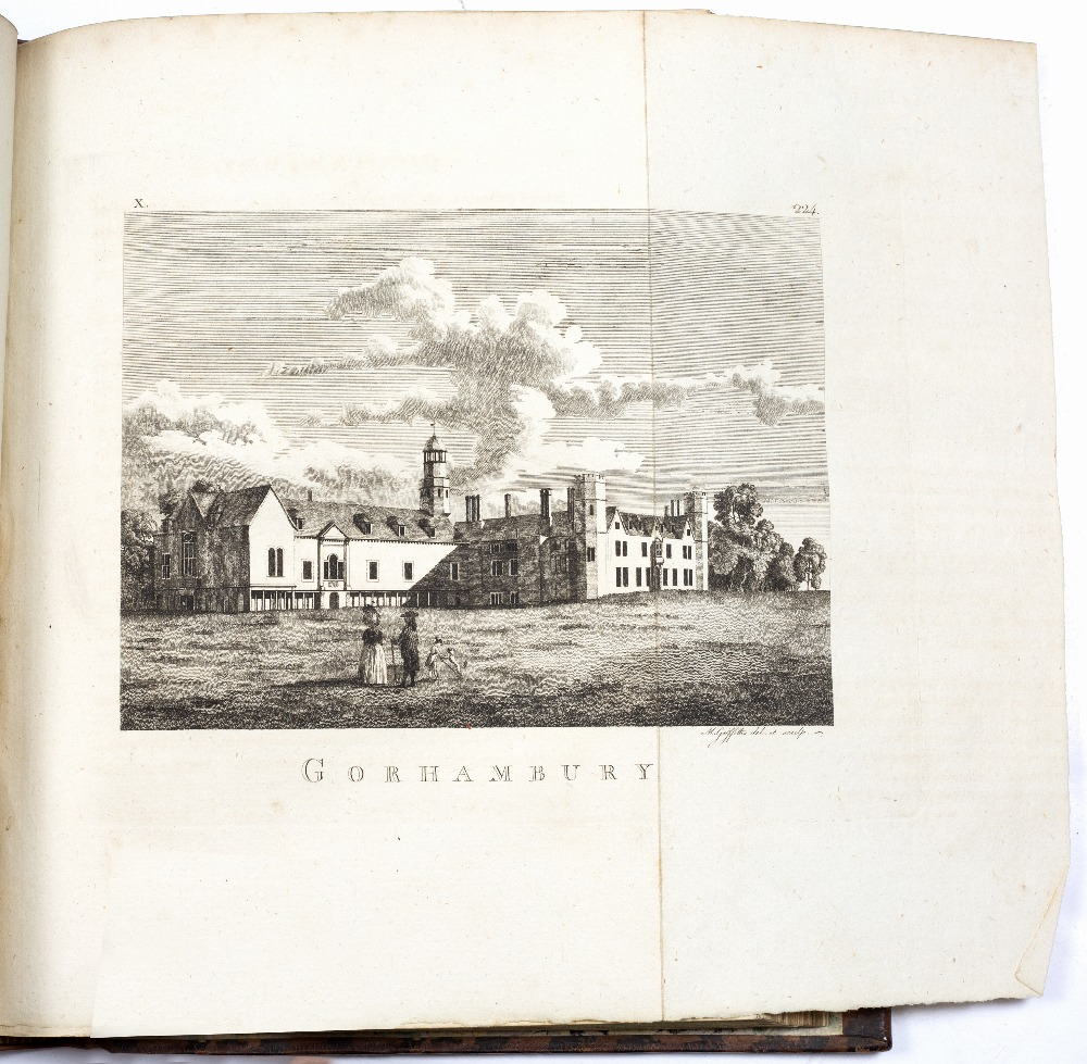 PENNANT, Thomas, 'The Journey From Chester to London'. B White, London 1782, vignette of East Gate - Image 3 of 4
