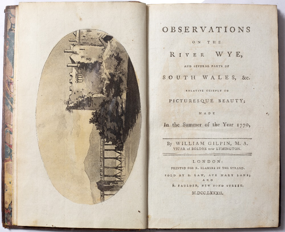 GILPIN, William (1724-1804), English Artist and Clergyman 'Observations on the River Wye and several - Image 2 of 5