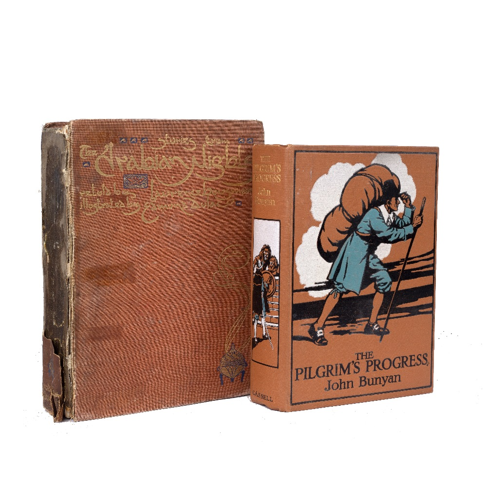 BUNYAN, John, The Pilgrim's Progress. Cassell, London c1925. with eight full page plates by James