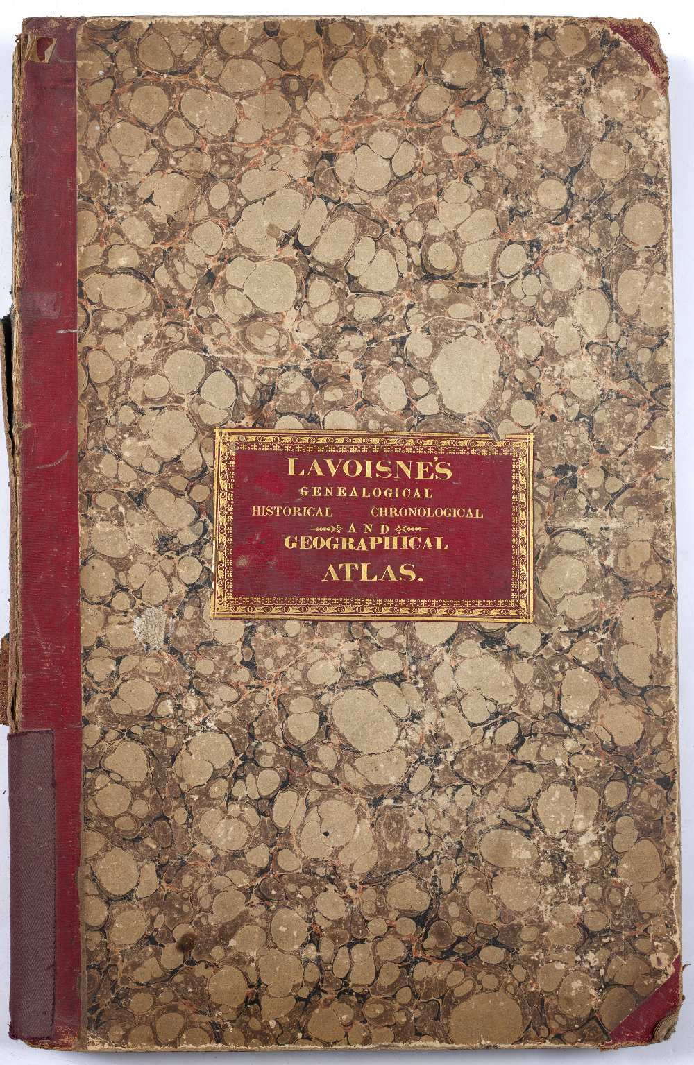 LAVOISNE, C.V. Lavoisne's Complete Genealogical, Historical, Chronological and Geographical Atlas.
