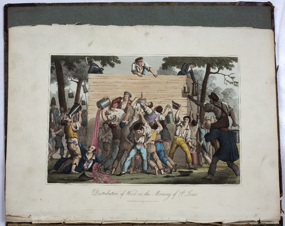SAMS, William, (Publisher) 'A Tour Through Paris', illustrated with twenty one coloured plates. - Image 2 of 6