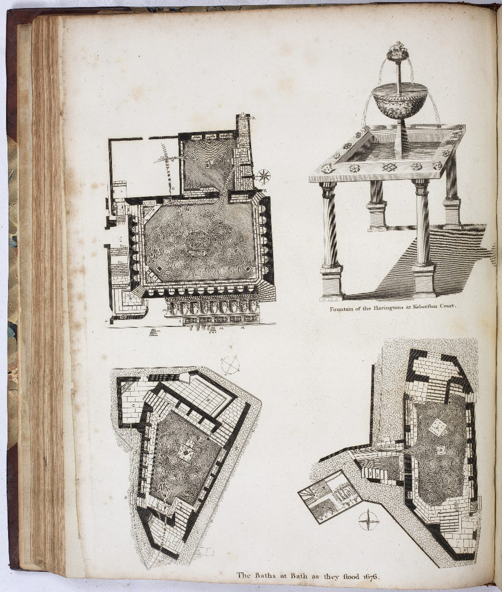 SOMERSET:- COLLINSON, Rev. John, The History and Antiquities of the County of Somerset. 3 vols. 4to. - Image 4 of 5