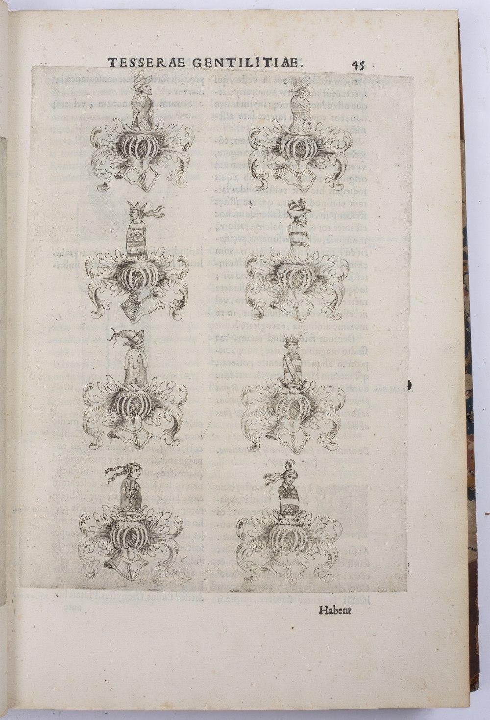 PETRA SANCTA, Silvestro, Tesserae Gentilitae, Rome, Francisci Corbelletti 1638 with title page - Image 3 of 3