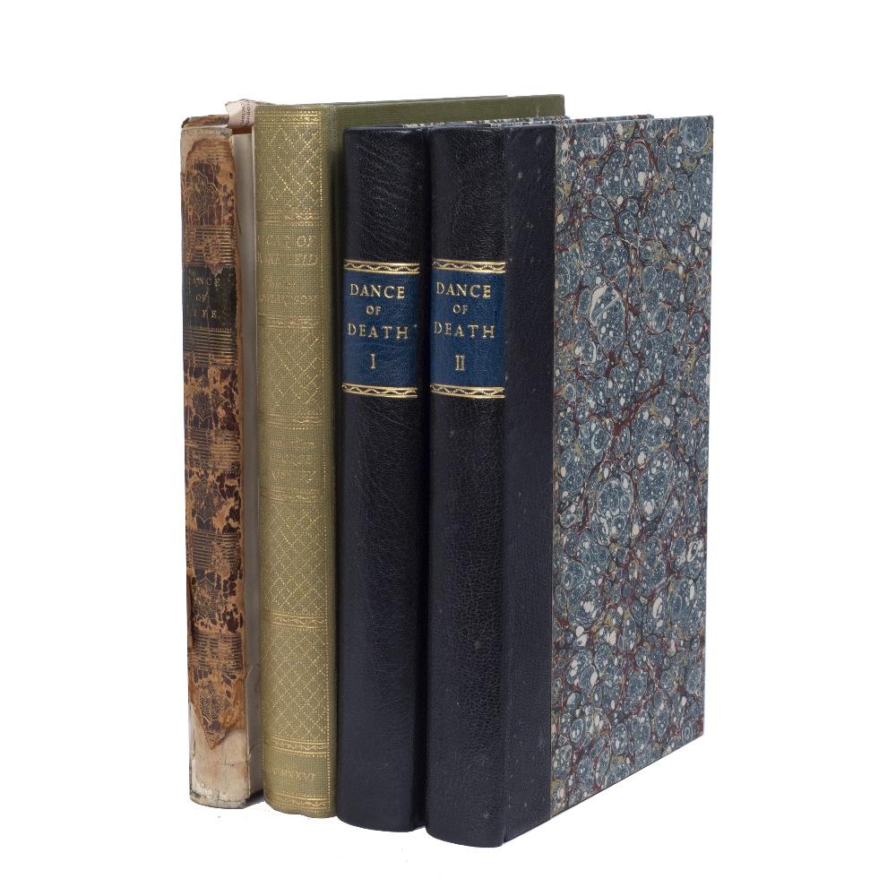 COOMBE, William and ROWLANDSON, Thomas, Illus. 'The English Dance of Death'. 2 Vols. Ackermann,
