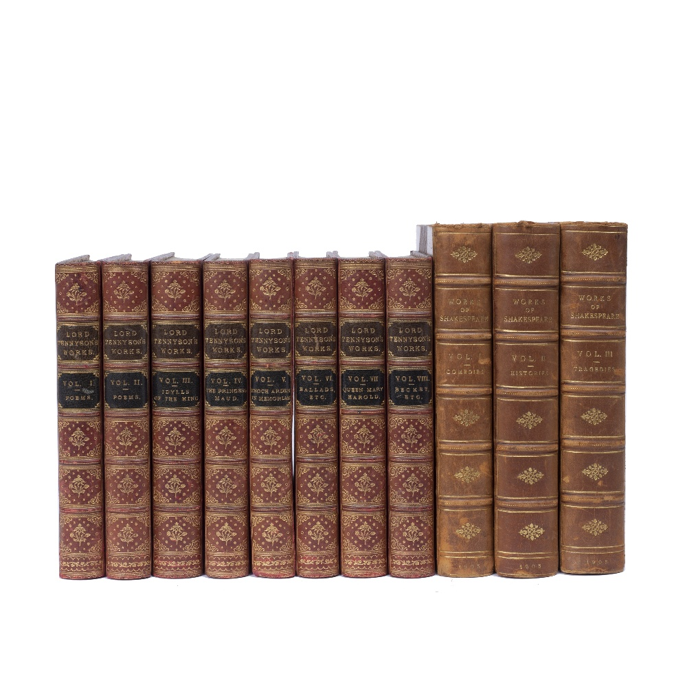 TENNYSON, Alfred, Lord, The Works thereof... Macmillan Press, London 1888 with portrait