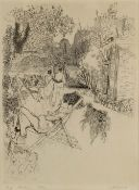 Anthony Gross (1905-1984) Valentine's Fortune, 1930 73/75, signed, titled, and numbered in pencil (