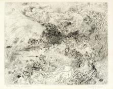 Anthony Gross (1905-1984) Study of Waves, 1935 36/50, signed, titled, and numbered in pencil (in the
