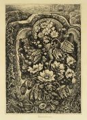 Robin Tanner (1904-1988) Flowers of May 8/50, signed and numbered in pencil etching 27 x 19cm.