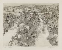 Anthony Gross (1905-1984) Vineyard, 1973 65/70, signed, titled, and numbered in pencil (in the