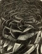 Paul Nash (1889-1946) The Fish and Fowl, 1924 woodcut 13.5 x 12cm; together with another Paul Nash