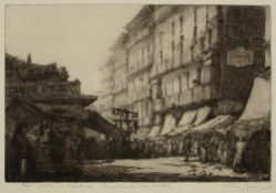 Anthony Gross (1905-1984) Paper Dolls - Madrid, 1925 signed, titled, and dated in pencil (in the