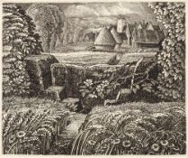 Robin Tanner (1904-1988) June, first printed in 1946 67/100, numbered and with blind stamp etching