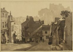 Leonard Russell Squirrell (1893-1979) Morning at Durham, 1931 signed in pencil (in the margin),