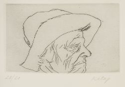 Ronald Brooks Kitaj (1932-2007) My Mother 20/20, signed and numbered in pencil (in the margin)