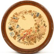 A collection of pictures and picture frames to include four 19th century rosewood frames, each