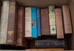 A large collection of antique and later books to include Winston ChurchillCondition report: At