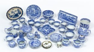 A collection of Spode Italian pattern china Condition report: At present, there is no condition