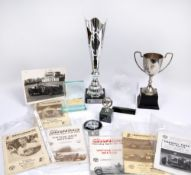 A small quantity of Silverstone ephemera to include Silverstone 92 vintage race meeting April 11th