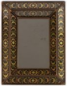 A decorative gilded wooden glass framed wall mirror by South Cone Collection, 35cm x 45cmCondition