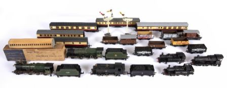 A quantity of Hornby and other manufactured 00 gauge locomotives, carriages, rolling stock and other