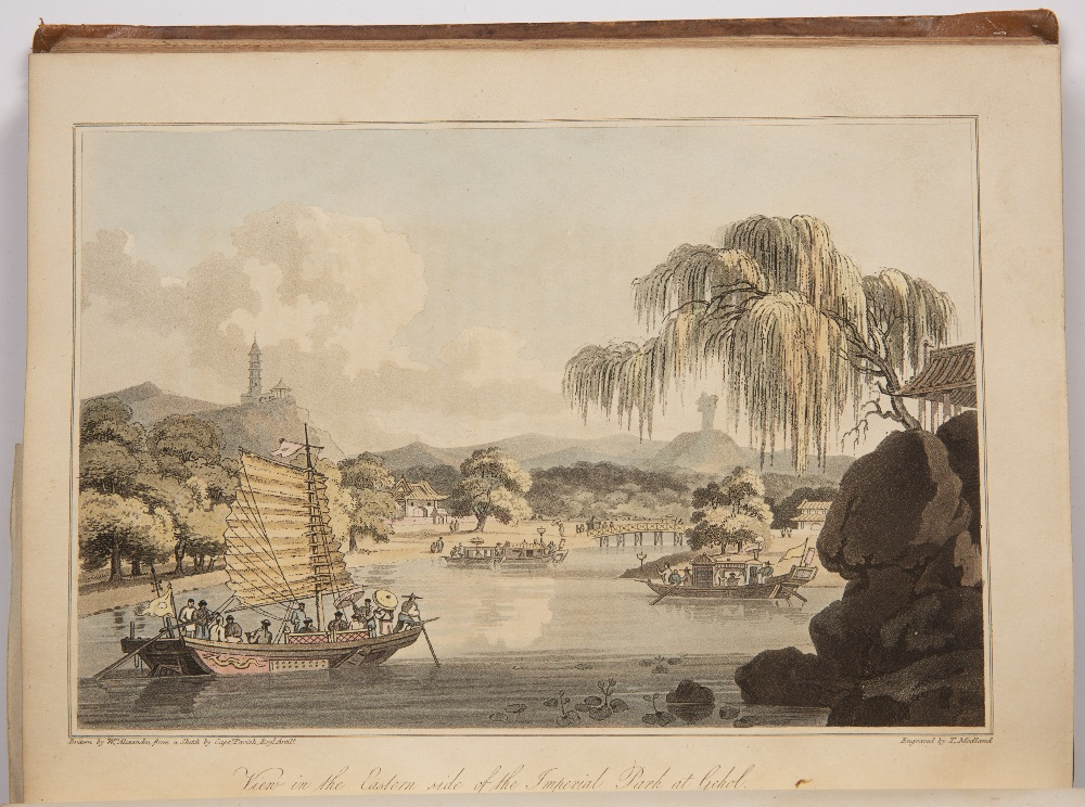 Barrow (John) Travels in China second edition, 5 hand-coloured aquatint plates, 3 engraved plates - Image 3 of 7