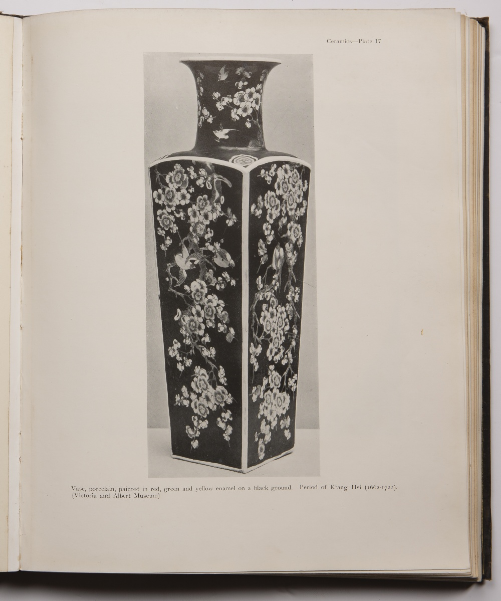The Early Ceramic Wares of China. London A.L. Hetherington, published by Benn Bros., 1922, first - Image 7 of 7