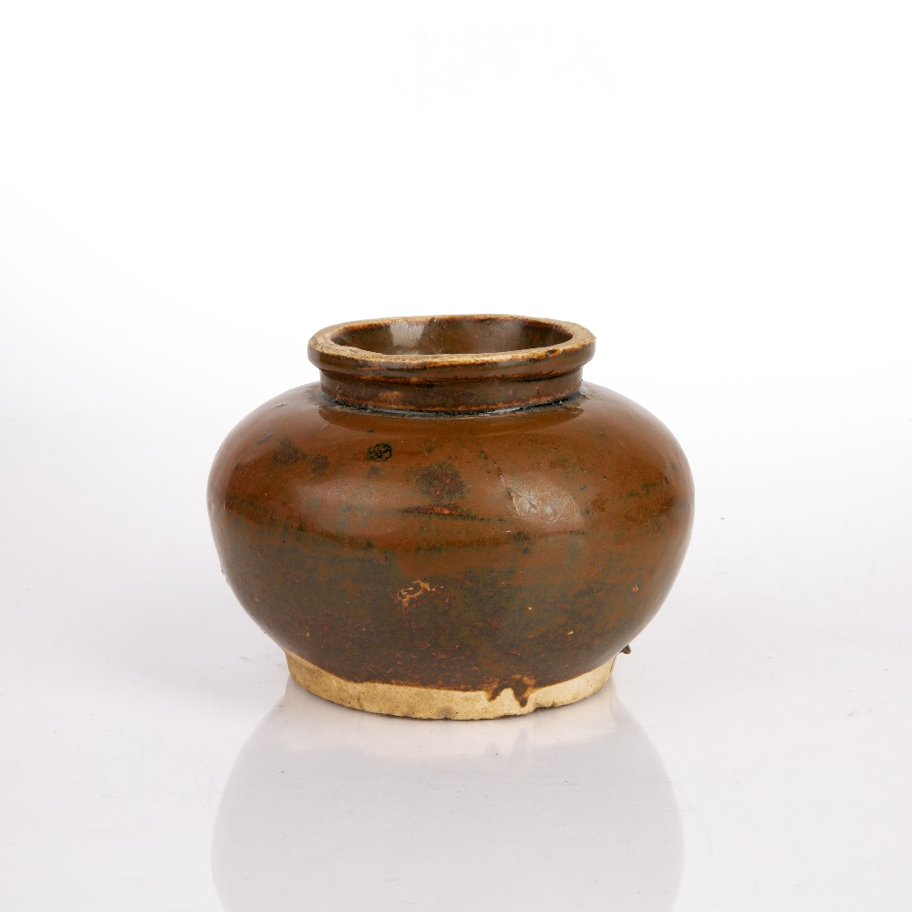 Small brown glazed bowl Chinese, Song Dynasty 13cm diameter x 9cm high Condition: wear and firing