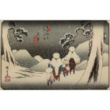 Ando/Utagawa Hiroshige (1797-1858) 'Oi, no. 47 from the series The Sixty-nine Stations of the