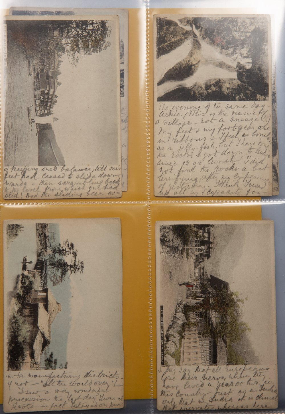 Collection of postcards including hand painted examples Malaya, Singapore, Japan and China circa - Image 3 of 6