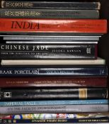 Collection of reference books and catalogues Chinese, India and Asian related including Rawson,