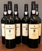 Port, six bottles of Warres's 2007 vintage portCondition report: in good condition