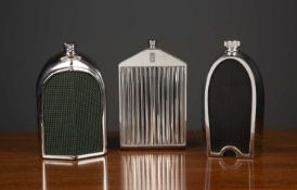 A group of three mid to late 20th century classic series decanters manufactured by Ruddspeed