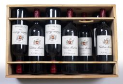 Eleven bottles of Chateau Montrose 2004Condition report: Purchased from The Wine Society and kept in