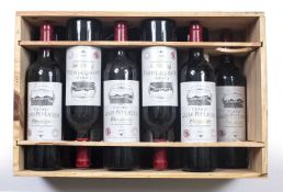 Eleven bottles of Chateau Grand-Puy-Lacoste Pauillac 2001 (11)Condition report: Purchased from The