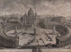 Giuseppe Vasi All Altezza Reale Eminentissima di Errigo Benedetto Maria Vescovo di Frascati Cardinal