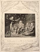 William Blake (British 1757 - 1827) Plate 12 'I am young & ye are very old' from 'illustrations of