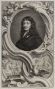Jacobus Houbraken after Peter Lely Sir William Temple, etching, 37 x 23cm; and one further similar