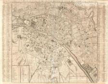 Henri Chatelain Nouvelle Carte de l'Angleterre dans L'aqu'elle I'on Observe les Comtez Les Archeves,