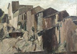 Bernard Kay (1927-2021) House in Sienna, 1961 signed and dated (lower right), titled (to reverse)