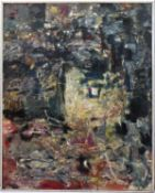 Bernard Kay (1927-2021) Inwards, 1957 signed and dated (lower right), titled (to reverse) oil on