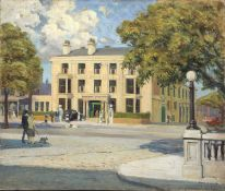 Bernard Kay (1927-2021) The Bold Hotel, Southport, 1949 signed and dated (lower right), titled (to