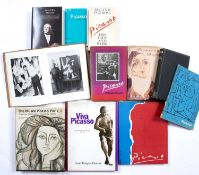 A group of Pablo Picasso reference books and catalogues to include Pablo Picasso by Paul Elouard,