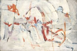 Bernard Kay (1927-2021) Screed, 1958 signed, titled, and dated (to reverse) oil on canvas 51 x