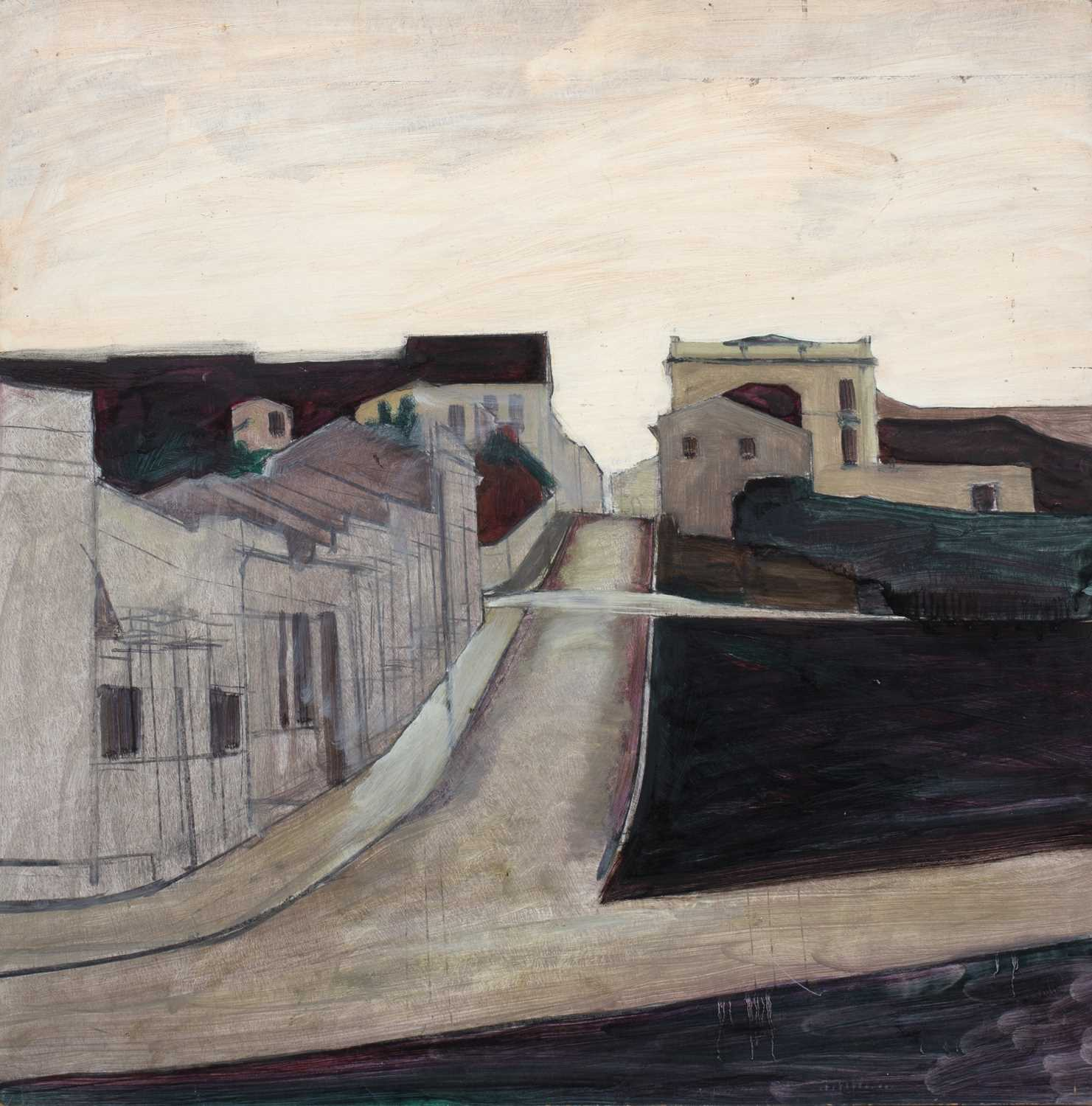 Bernard Kay (1927-2021) Three unsigned oil paintings largest 82 x 106cm; together with two signed - Image 2 of 8