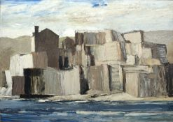 Bernard Kay (1927-2021) The Templier, Collioure, 1962 signed and dated (lower right), titled (to