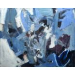 Bernard Kay (1927-2021) Moon Pull Pale Blue, 1958 signed and dated (lower right), titled (to