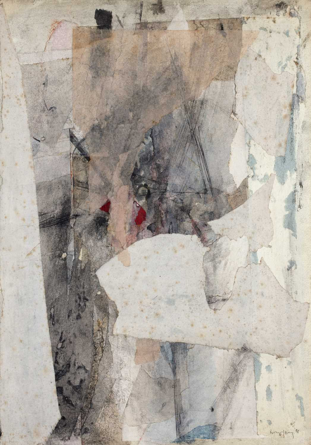 Bernard Kay (1927-2021) Three unsigned oil paintings largest 82 x 106cm; together with two signed - Image 5 of 8