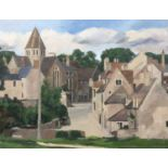 Bernard Kay (1927-2021) Oundle, Stoke Hill, 1987/1988 signed and dated (lower right), titled (to